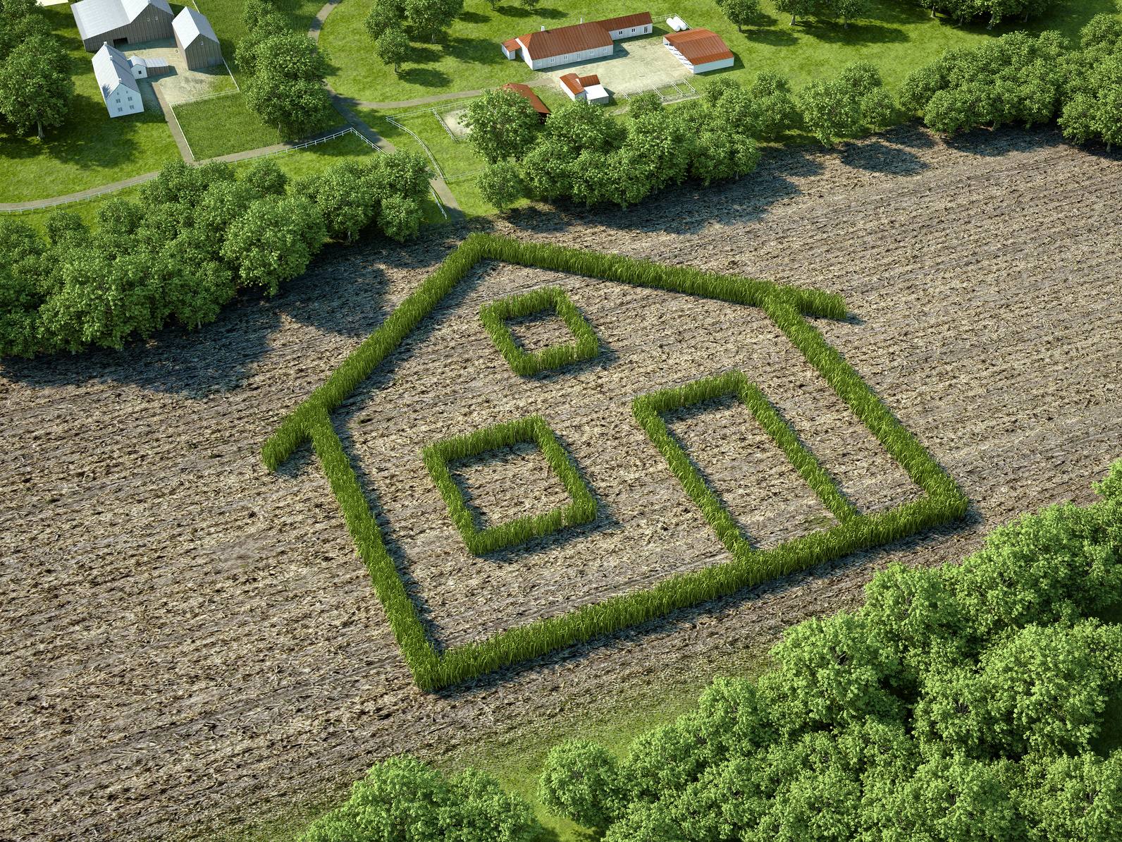 Comment bien choisir son terrain b tir pour construire for Bien acheter sa maison