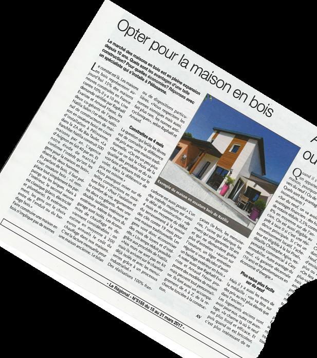 le r seau s 39 agrandit et la presse en parle natilia salon de provence. Black Bedroom Furniture Sets. Home Design Ideas