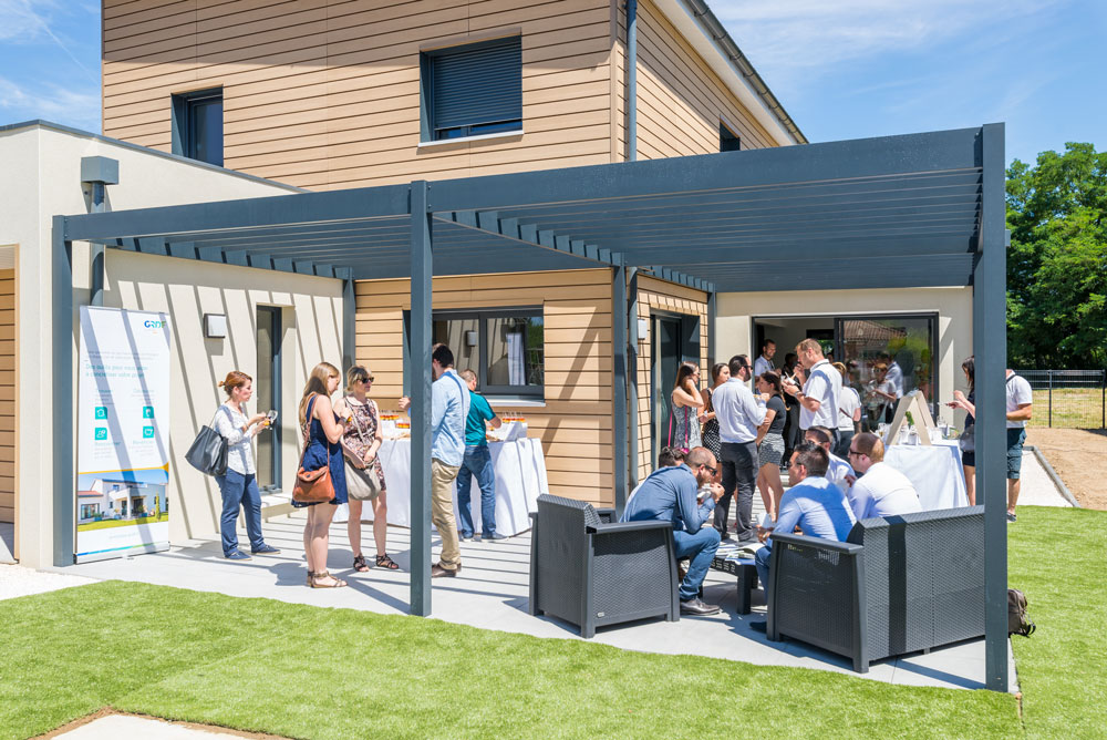 première maison à energie positive natilia