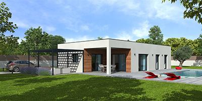 maison contemporaine en bois Natisoon