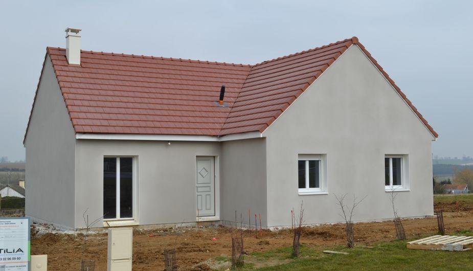 Maison Crpi Gris Et Blanc Dco Facade Maison Tours Avec Stupefiant