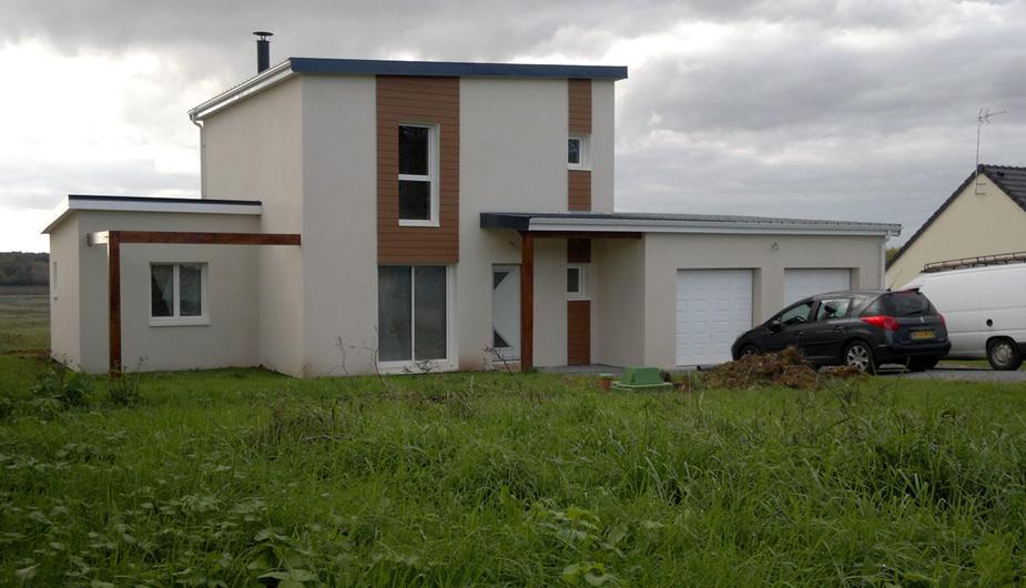 Constructeur maison bois bourges natilia for Constructeur maison contemporaine bourges