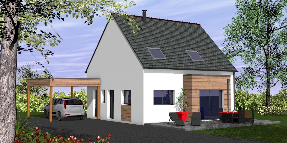 construction maison à châteaulin 5 pièces 101m² 191 232€ sur le