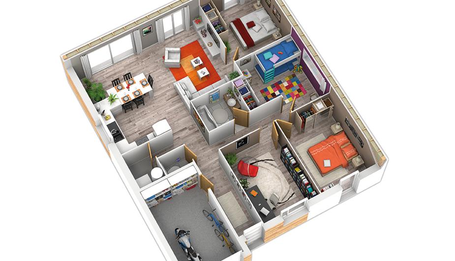 maison 4 chambres cholet