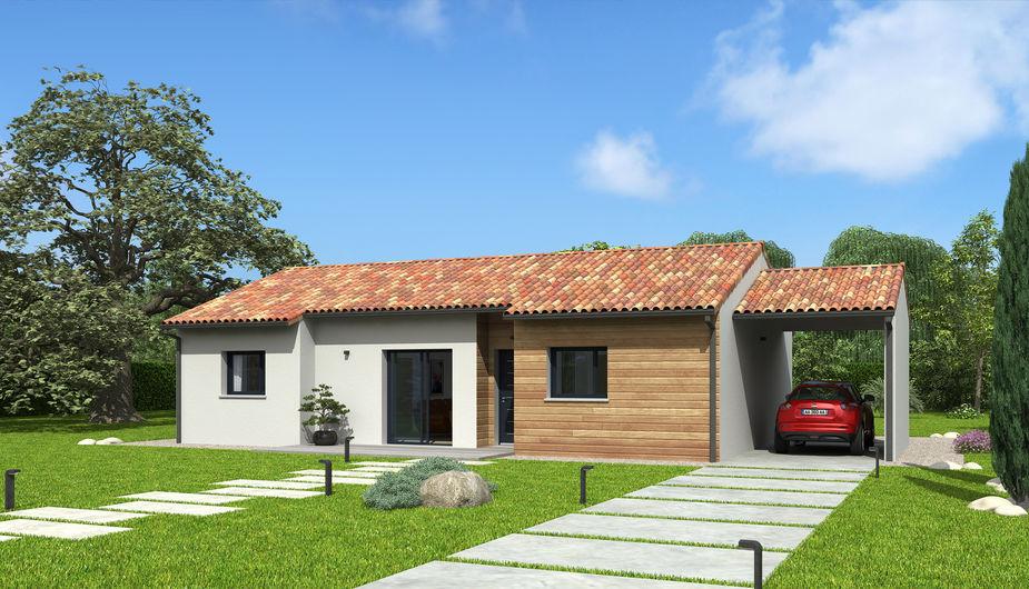 maison en bois Natilia Cholet