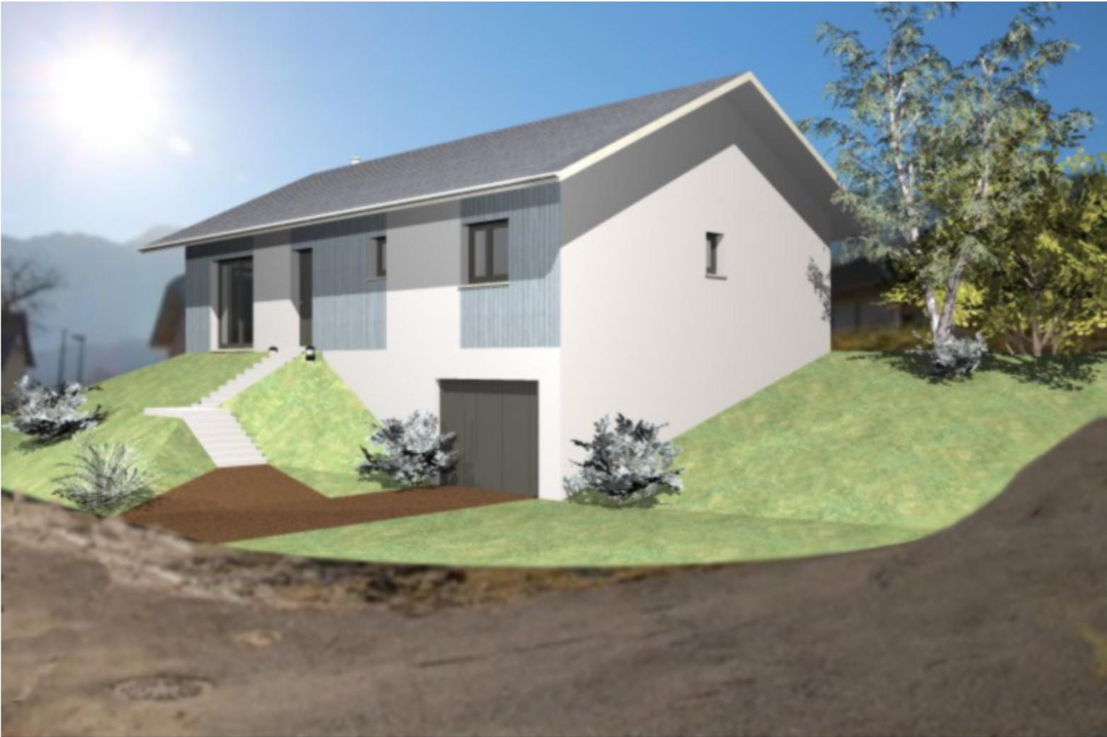 construction maison la biolle 73410 sur le partenaire. Black Bedroom Furniture Sets. Home Design Ideas