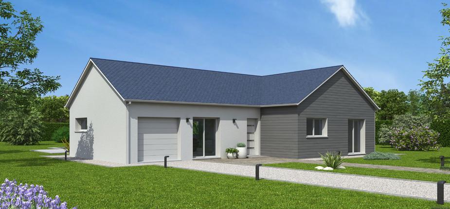 plan maison bois mod le natilys 4 pans ardoise natilia. Black Bedroom Furniture Sets. Home Design Ideas