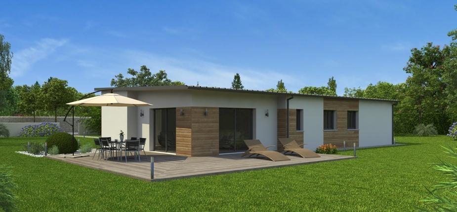 plan maison bois mod le natir o bacacier natilia. Black Bedroom Furniture Sets. Home Design Ideas