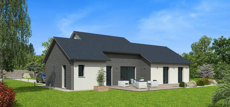 plan maison bois mod le natitoa ardoise natilia. Black Bedroom Furniture Sets. Home Design Ideas