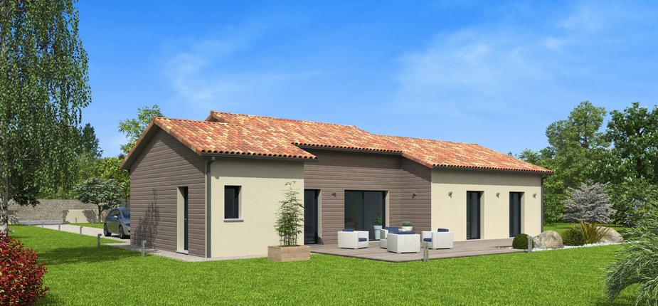 natitoa terre de soleil mod le de maison en bois natilia. Black Bedroom Furniture Sets. Home Design Ideas