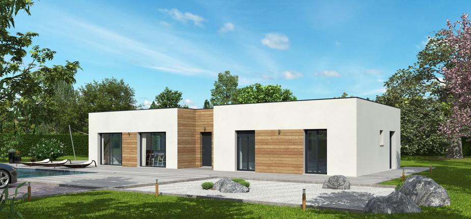 nativie toit terrasse mod le de maison en bois natilia. Black Bedroom Furniture Sets. Home Design Ideas