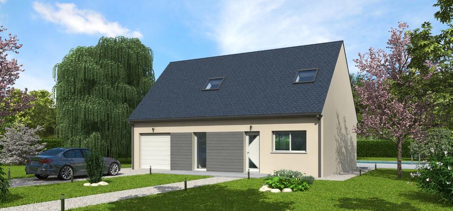 plan maison bois mod le nativio ardoise natilia. Black Bedroom Furniture Sets. Home Design Ideas