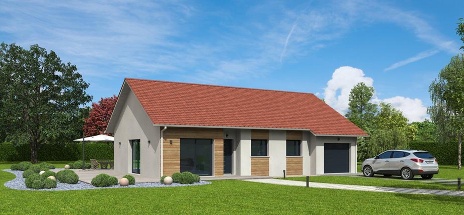 plan maison bois mod le natizen plates rouge natilia. Black Bedroom Furniture Sets. Home Design Ideas