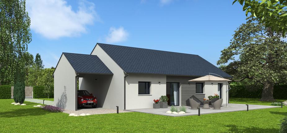 plan maison bois mod le natibao ardoise natilia. Black Bedroom Furniture Sets. Home Design Ideas