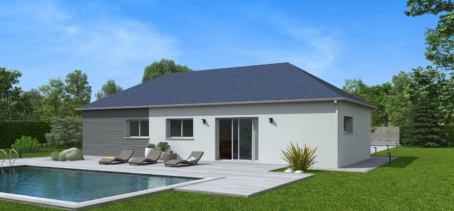 plan maison bois mod le natilys 6 pans ardoise natilia. Black Bedroom Furniture Sets. Home Design Ideas