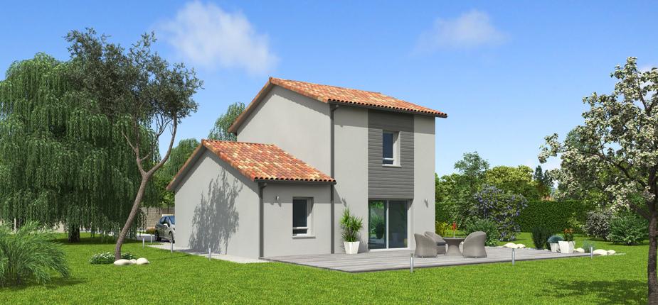 natiming terre de soleil mod le de maison en bois natilia. Black Bedroom Furniture Sets. Home Design Ideas