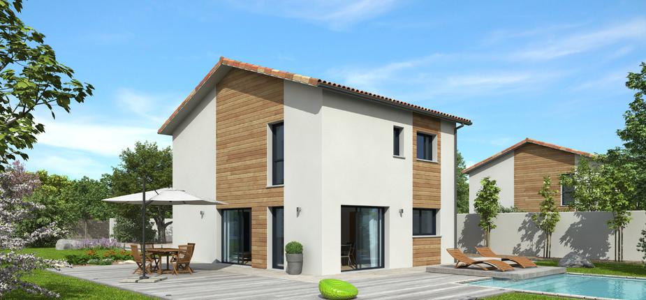 plan maison bois mod le natirane terre de soleil natilia. Black Bedroom Furniture Sets. Home Design Ideas