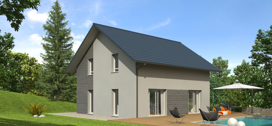nativ o ardoise version montagne mod le de maison en bois natilia. Black Bedroom Furniture Sets. Home Design Ideas