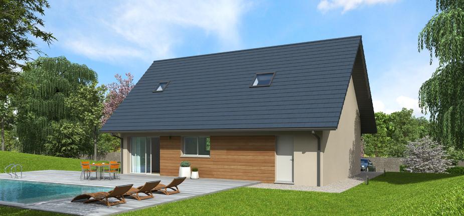 nativio ardoise version montagne mod le de maison en bois natilia. Black Bedroom Furniture Sets. Home Design Ideas