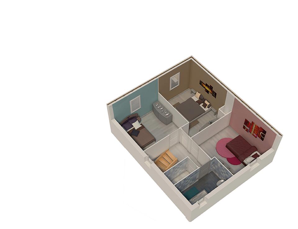 plan maison bois mod le nativa terre de soleil natilia. Black Bedroom Furniture Sets. Home Design Ideas
