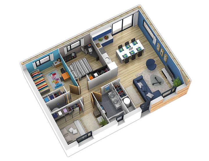 maison ossature bois plan natiban int natilia 2