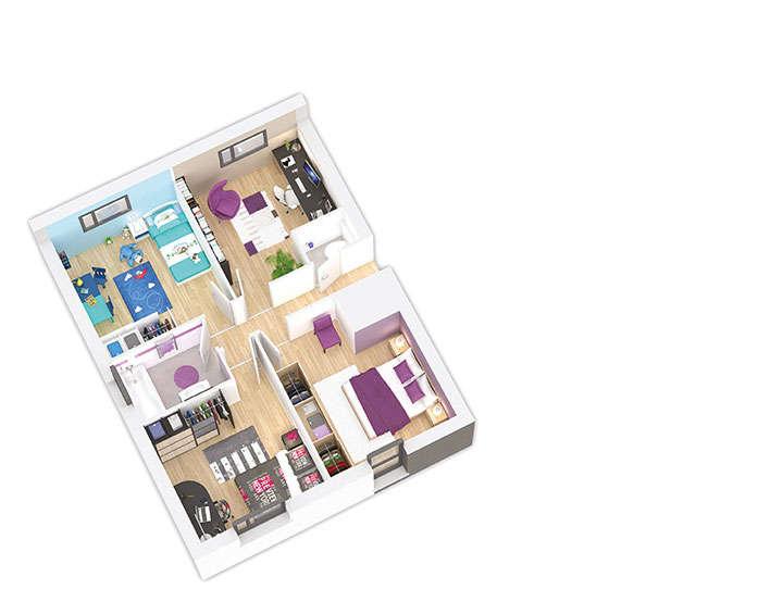 maison ossature bois plan naticea etage 2 natilia 1