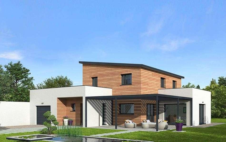 La maison nergie positive natilia var for Constructeur maison positive