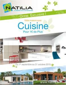 cuisine pour 1 euro maison bois natilia jpg
