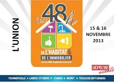 logo 48 heures habitat l union