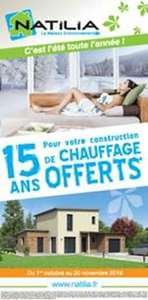 promotion octobre chauffage