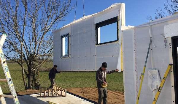 Pourquoi La Construction Maison Bois Natilia Est Plus Rapide