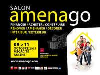 affiche amenago avec logo format paysage