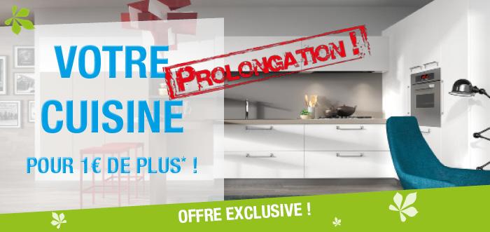 R duction prolongation de l 39 offre cuisine pour 1 de plus for Offre cuisine