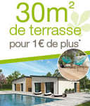Profitez du soleil avant les autres, avec 30m² de terrasse pour 1€ de plus* !