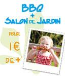 Envie d'un bon barbecue ? Votre barbecue et votre salon de jardin pour 1€ de plus*.