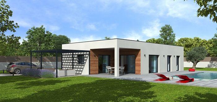 constructeur maison bois avignon natilia. Black Bedroom Furniture Sets. Home Design Ideas