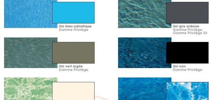 couleur de l eau de piscine